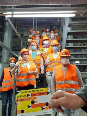 Aktionstag 2021: Klever Landfrauen im AEZ Asdonkshof in Kamp-Lintfort